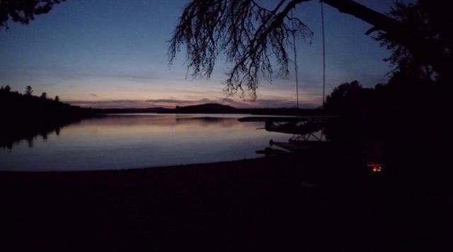 Night Camping Passamagamet Lake