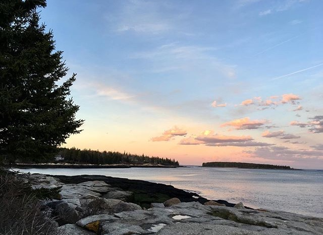 Birch Point Sunset