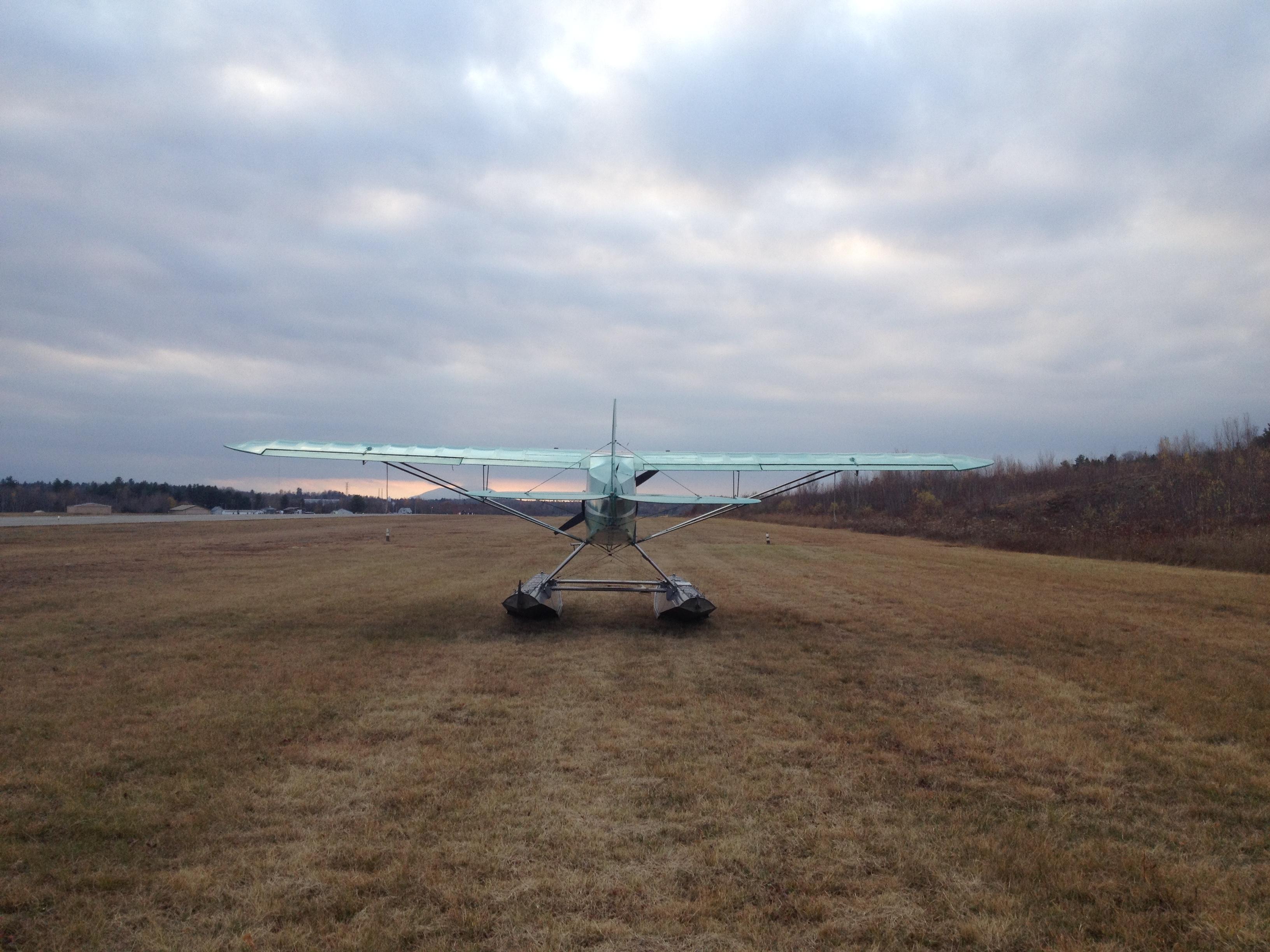 End of Season Landing in the Grass II