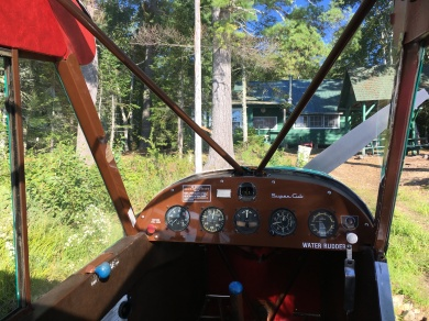 My transportation to the sporting camps, a 1952 Piper Super Cub